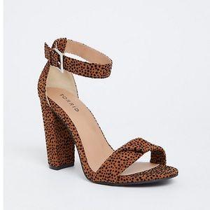 Cheetah Spot Heels